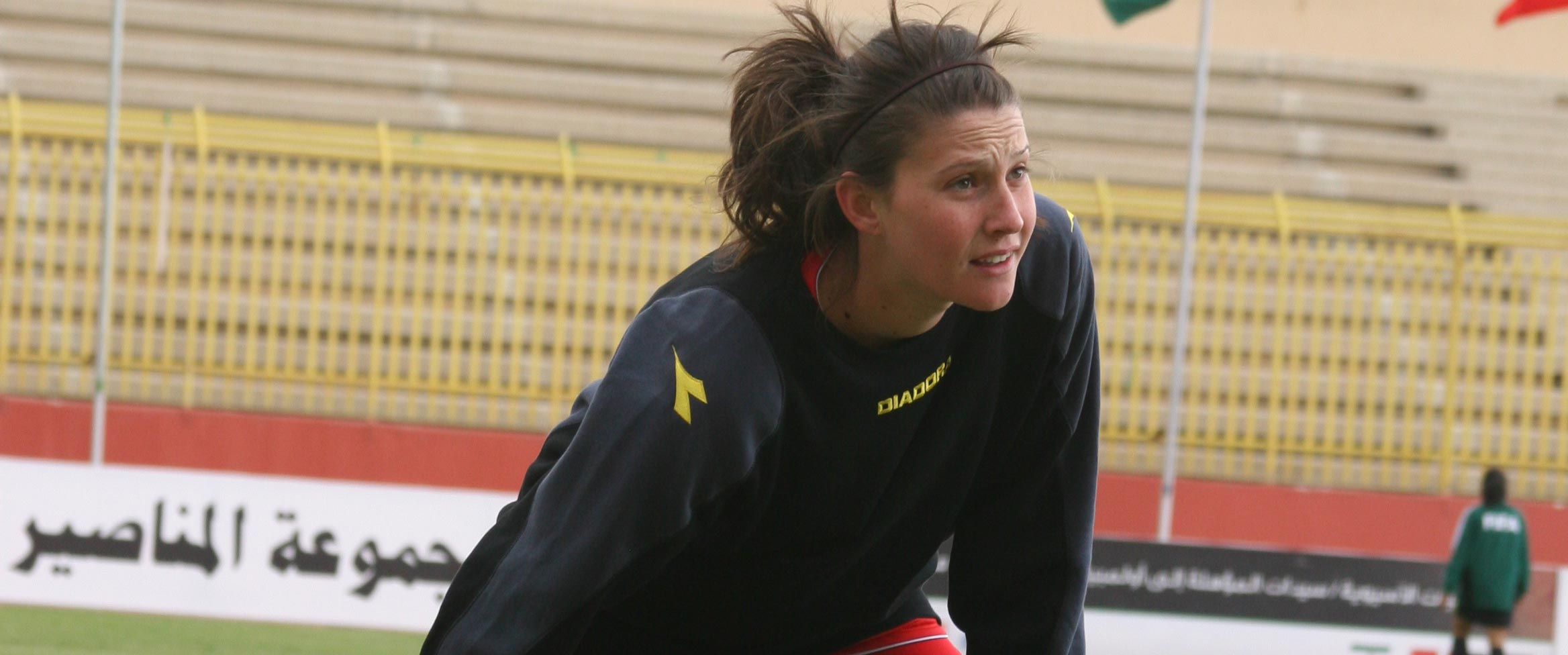 Women in the Stadium