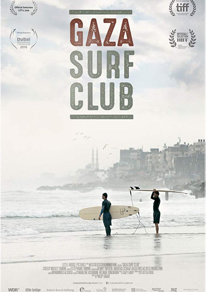 Gaza Surf Club Poster