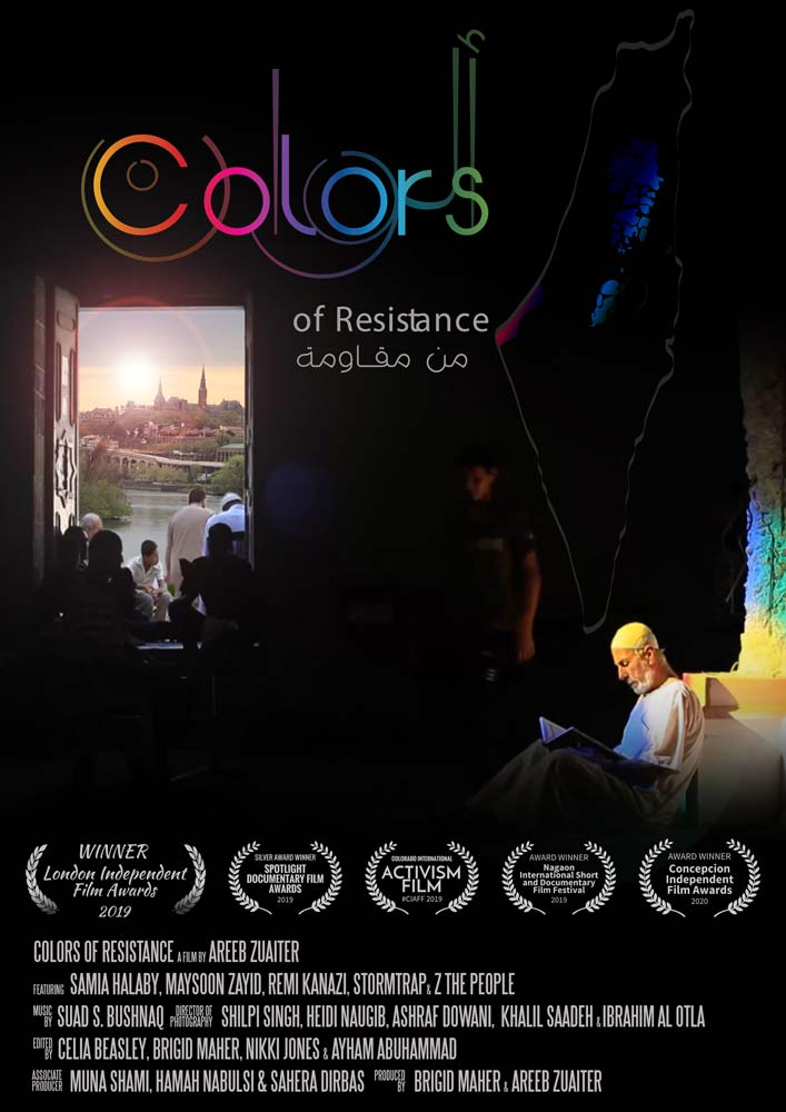 Colors Of Resistance Poster